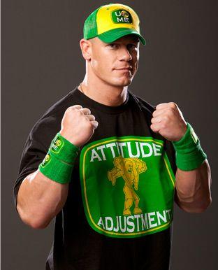 John Cena Attitude Adjustment Ring Gear
