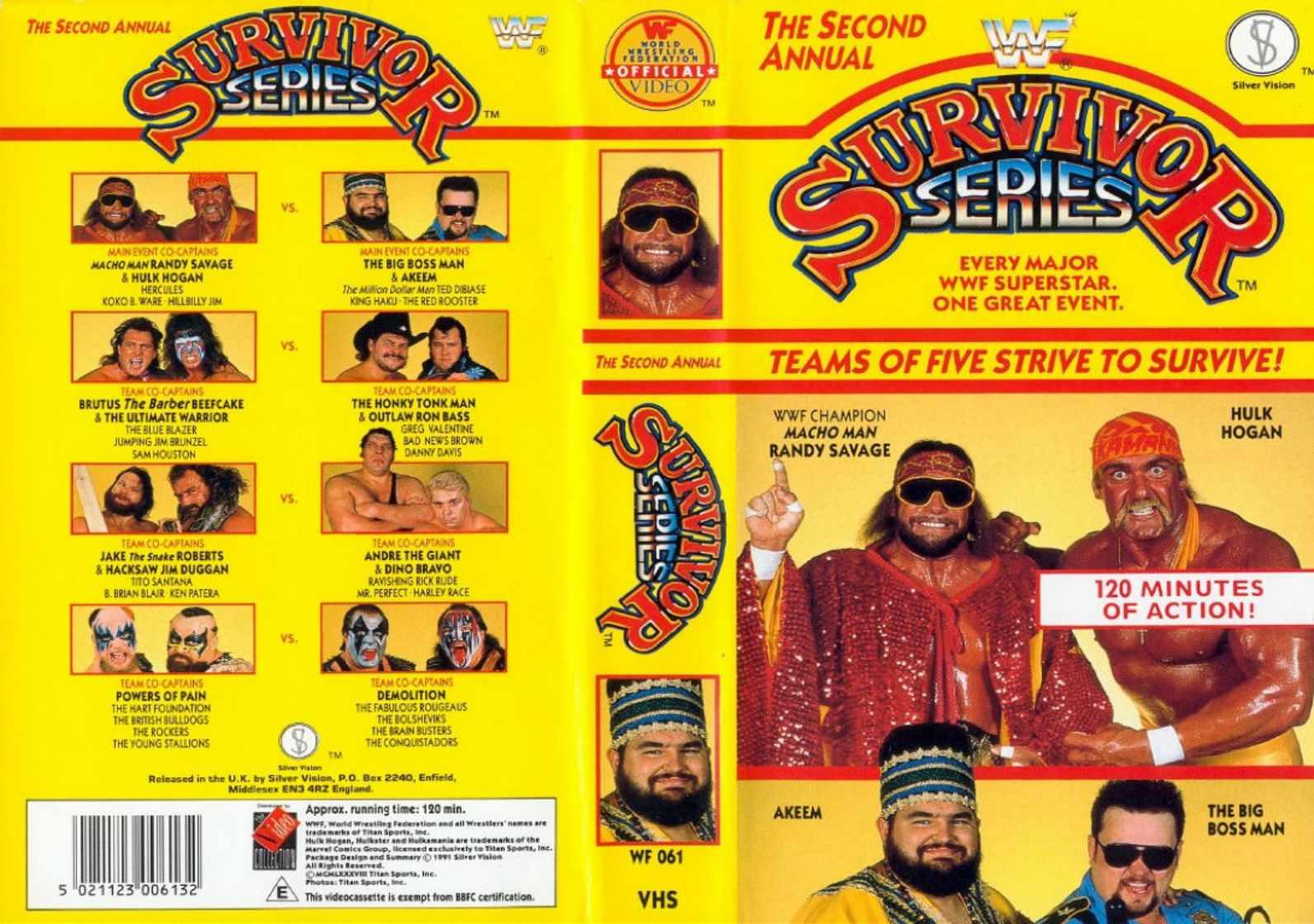 Kết quả hình ảnh cho Watch WWE Survivor Series 1988