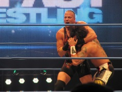 RVD messes up Zema Ion's hair with a headlock