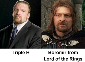 I know Sean Bean as Sharpe but to millions of others he's Boromir, the spitting image of The Game.