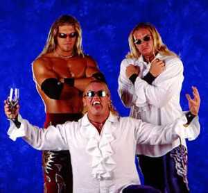 1795 - Gangrel The_Brood arms_folded christian edge promotional_image sunglasses wwf