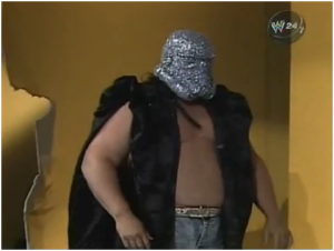 With such a ridiculous costume, it's difficult to imagine that The Shockmaster wasn't doomed from the get-go (pic courtesy of www.tumblr.com)