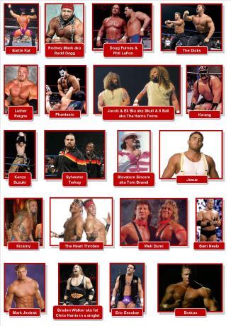 obscure WWE wrestlers