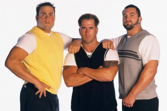 Pete Gas, Rodney and Joey Abs(Image courtesy of www.wwe.com)