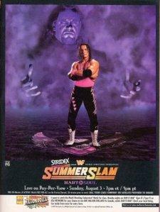 Summerslam 1997 poster (Image courtesy of Bleacher Report)
