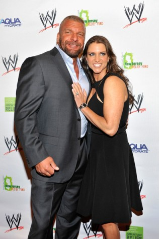Triple H and Stephanie may be at the forefront of WWE TV but neither are getting the level of heel heat you'd expect (Image courtesy of www.zimbio.com)