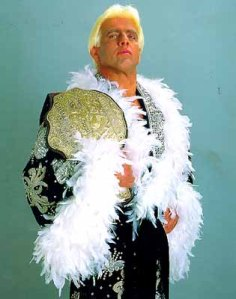 Whilst the WWE had Hogan the NWA had the equally larger than life Ric Flair (Image courtesy of marzdailymedia.com)