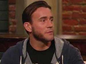 CM Punk looking as good as he has in years on 'Talking Dead' last Sunday (Image courtesy of www.sescoops.com)