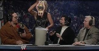 Madusa WWF Woman's title Nitro