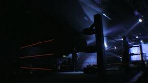stock-footage-london-february-pro-wrestling-ring-lighting-during-britwres-fest-on-february