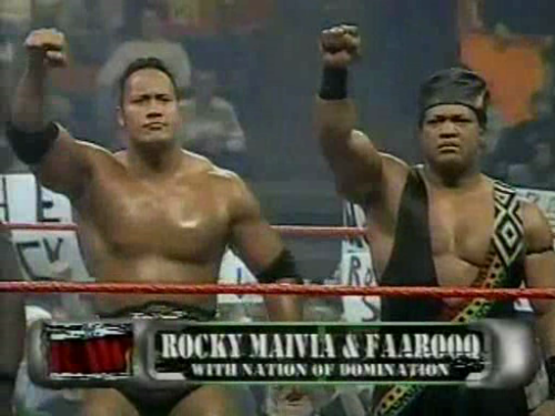 Rocky Maivia When Being Bad ...