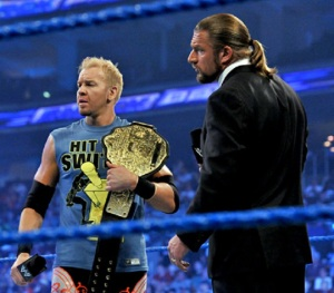WWE-Christian-and-Triple-H-with-Belt