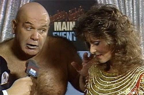 Hulk Hogan Black Eyed Wrestlemania 9