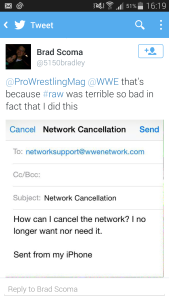 Network Cancellation