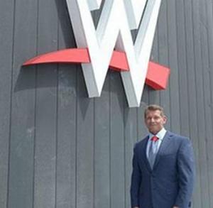 WWEFlagVince