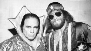 Angelo Poffo and Randy Savage
