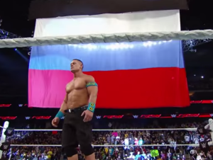 Cena just didn't see this big flag coming