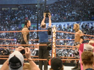 Edge Undertaker wrestlemania 24
