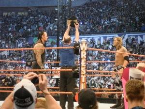 Edge Undertaker wrestlemania 24