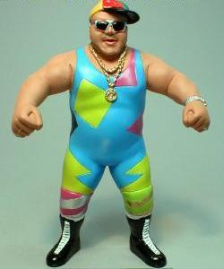 The wrestling figure that never was