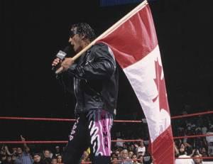 Bret Hart Canada Flag