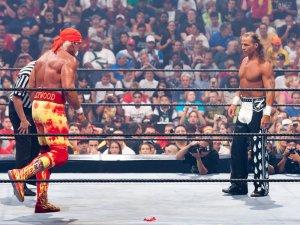 Hulk Hogan Shawn Michaels