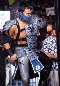 Kaz Hayashi aka the second Sub-Zero.... I mean Glacier