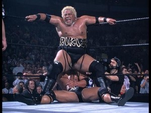 Turns out Rikishi also did this Stinkface for The Rock too