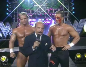 Lex Luger and Sting? No, they are now officially Lex Luger & Sting