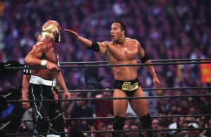 WrestleMania 18 Hulk Hogan The Rock