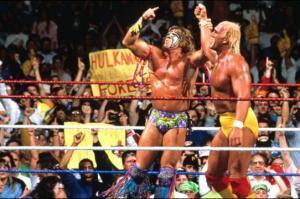 WrestleMania 6 Ultimate Warrior Hulk Hogan