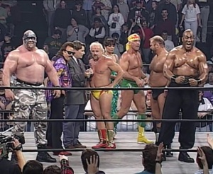 Just some of the wrestlers who will no doubt lose to Hulk Hogan and Macho Man at Uncensored