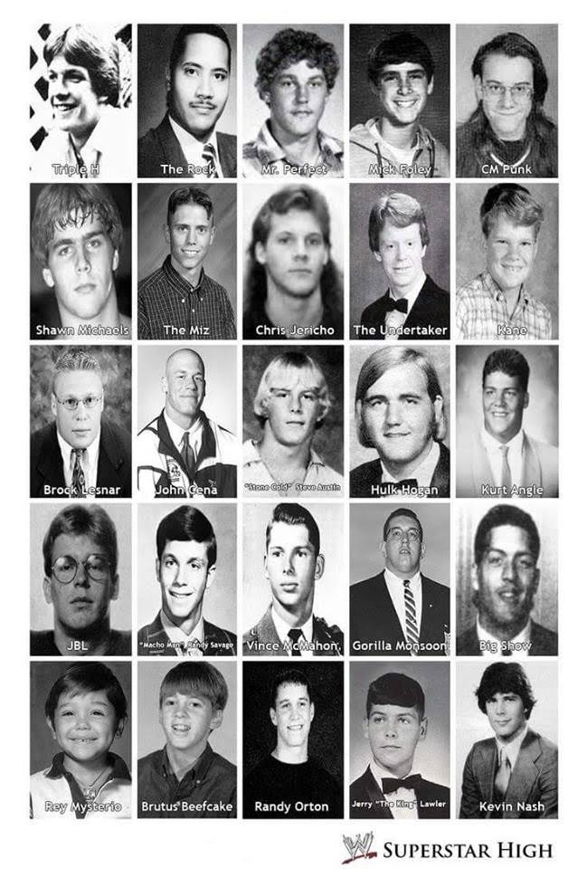 WWE High School Yearbook