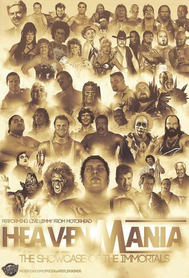 Dead wrestlers