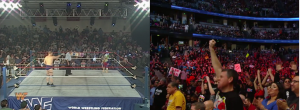 WWE Then and Now