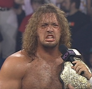 The Giant was overjoyed at winning his second WCW Title