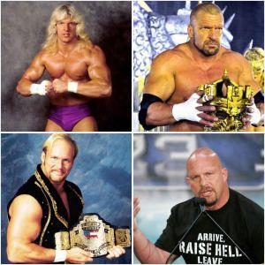 Triple H Stone Cold Steve Austin