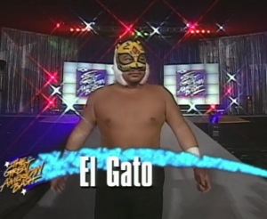 The legend that is Pat Tanaka in a mask
