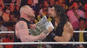 Brock Lesnar Roman Reigns