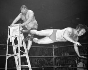 First ever ladder match
