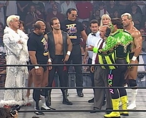 The formation of a dream team. Also, why is Gene not wearing a jacket?