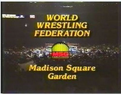 For Years, Before The Creation Of Monday Night Raw, MSG Would Tape House  Shows From MSG And Air Them On Their Madison Square Garden Network.