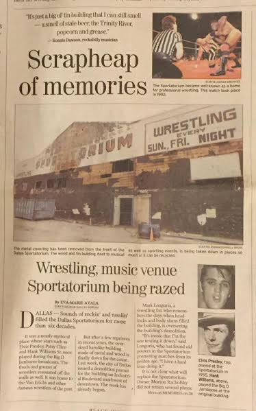 Dallas Sportatorium
