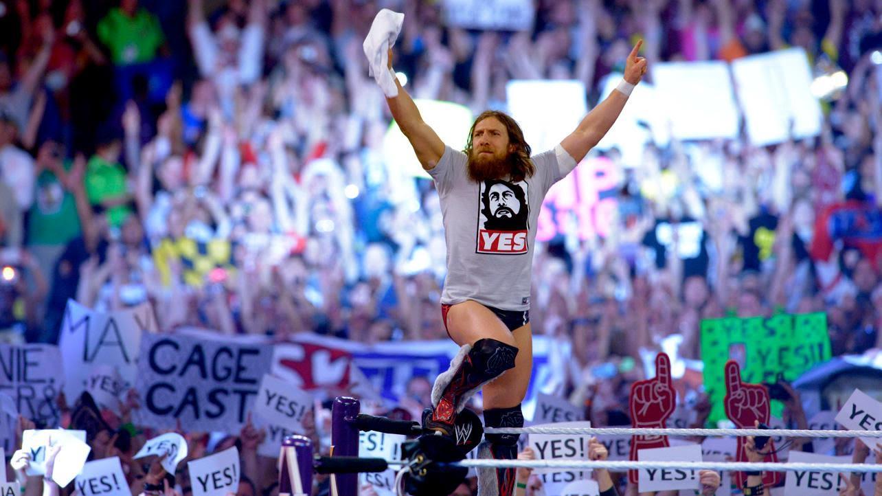 Top Five Iconic Wrestling Images | Ring the Damn BellDaniel Bryan Wrestlemania 30 Wallpaper