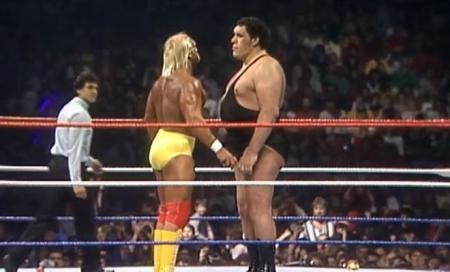 Hogan vs Andre
