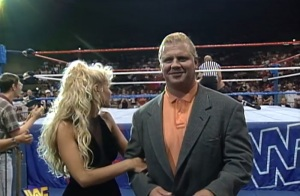 Mr Perfect looks happy with his evening's work