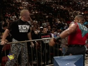 Turn the car around; The Sandman ruins ECW's field trip