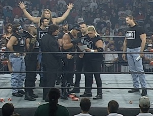 This is the last time The Nasty Boys will be taken seriously, assuming they ever were