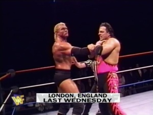 Realising they need some heat for their next PPV main event, the WWF have turned to house shows to help increase interest in Sid vs. Bret