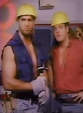 Chris Kanyon (left) may soon be returning with a new gimmick